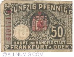 Image #2 of 50 Pfennig 1919 - Frankfurt an der Oder