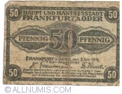 Image #1 of 50 Pfennig 1919 - Frankfurt an der Oder