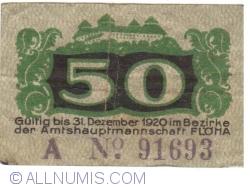 Image #2 of 50 Pfennig ND - Flöha