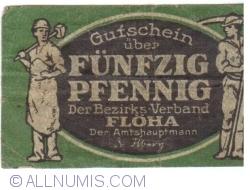 Image #1 of 50 Pfennig ND - Flöha
