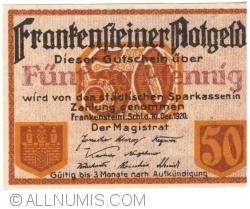 Image #1 of 50 Pfennig 1920 - Frankenstein
