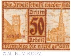 Image #2 of 50 Pfennig 1920 - Frankenstein