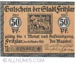 Image #1 of 50 Pfennig 1920 - Fritzlar