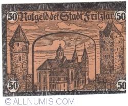 Image #2 of 50 Pfennig 1920 - Fritzlar