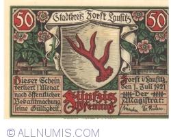 Image #1 of 50 Pfennig 1921 - Forst