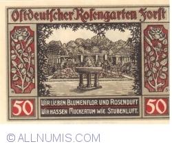 Image #2 of 50 Pfennig 1921 - Forst