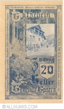 20 Heller 1920 - Goisern