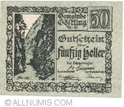 Imaginea #1 a 50 Heller ND - Göstling