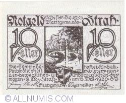 Imaginea #1 a 10 Heller 1920 - Strass im Strassertale