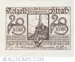 Imaginea #1 a 20 Heller 1920 - Strass im Strassertale