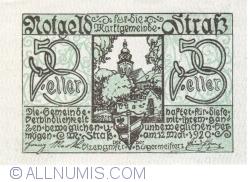 Imaginea #1 a 50 Heller 1920 - Strass im Strassertale