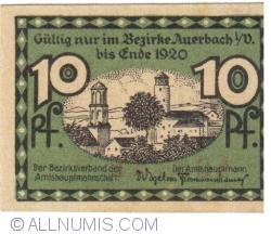 Image #2 of 10 Pfennig 1920 - Auerbach