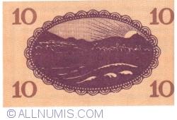 Image #2 of 10 Pfennig 1920 - Bad Godesberg