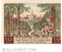 Image #2 of 10 Pfennig 1921 - Auma