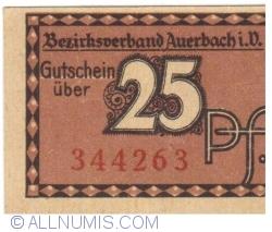 Image #1 of 25 Pfennig 1920 - Auerbach