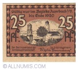 Image #2 of 25 Pfennig 1920 - Auerbach