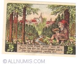 Image #2 of 5 Pfennig 1921 - Auma