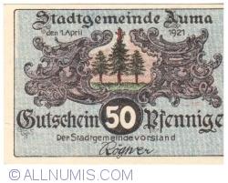 Image #1 of 50 Pfennig 1921 - Auma