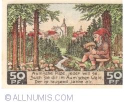 Image #2 of 50 Pfennig 1921 - Auma