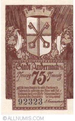 Image #1 of 75 Pfennig 1920 - Andernach
