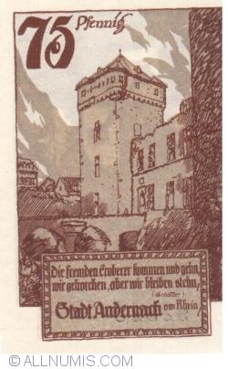 Image #2 of 75 Pfennig 1920 - Andernach
