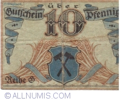 Image #2 of 10 Pfennig 1919 - Borna