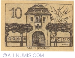 Image #2 of 10 Pfennig 1920 - Boppard
