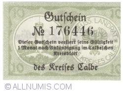 Image #2 of 10 Pfennig 1920 - Calbe