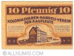 Image #1 of 10 Pfennig 1921 - Ka-Ha-Vau magazine