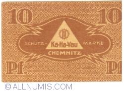 Image #2 of 10 Pfennig 1921 - Ka-Ha-Vau magazine