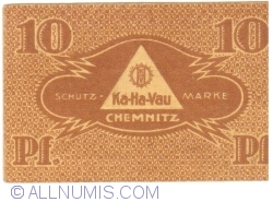 10 Pfennig 1921 - Ka-Ha-Vau magazine