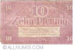 Image #2 of 10 Pfennig ND - Cottbus