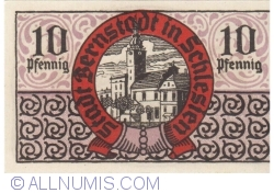 Imaginea #2 a 10 Pfennig ND - Bernstadt in Schlesien