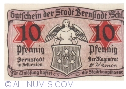 Imaginea #1 a 10 Pfennig ND - Bernstadt in Schlesien