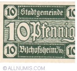 Image #1 of 10 Pfennig ND - Bischofsheim an der Rhön