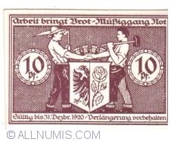 Image #2 of 10 Pfennig 1920 - Bismark