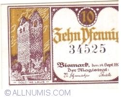 Image #1 of 10 Pfennig 1920 - Bismark