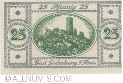 Image #2 of 25 Pfennig 1920 - Bad Godesberg