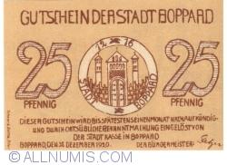 Image #1 of 25 Pfennig 1920 - Boppard
