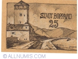 Image #2 of 25 Pfennig 1920 - Boppard