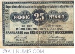 Image #1 of 25 Pfennig 1920 - Bückeburg