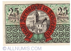 Image #2 of 25 Pfennig ND - Bernstadt in Schlesien