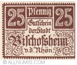 Image #1 of 25 Pfennig ND - Bischofsheim an der Rhön