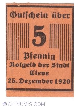 Image #1 of 5 Pennig 1920 - Cleve