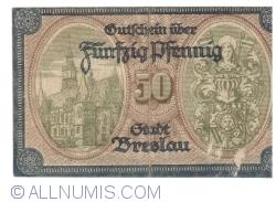 Image #2 of 50 Pfennig 1918 - Breslau