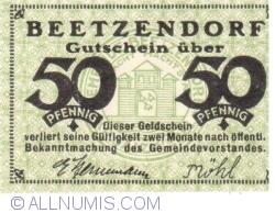 Imaginea #1 a 50 Pfennig ND - Beetzendorf