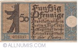 50 Pfennig 1921 (5) - Berlin
