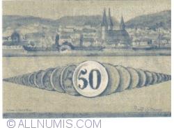 Image #2 of 50 Pfennig 1920 - Boppard