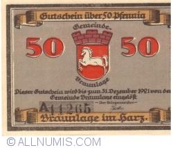 Image #1 of 50 Pfennig ND - Braunlage