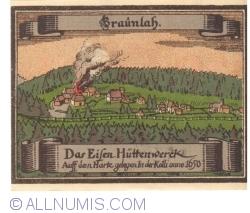 Image #2 of 50 Pfennig ND - Braunlage
